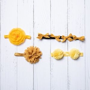 Other - Yellow Hair Accessory Bundle
